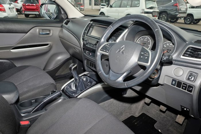 2016 Mitsubishi Triton GLS MQ MY16 4X4 Dual Range Blue