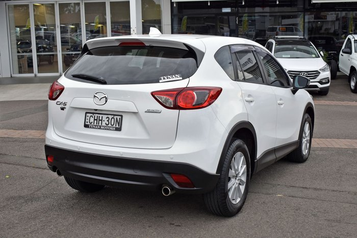 2012 Mazda CX-5 Maxx Sport KE Series AWD White