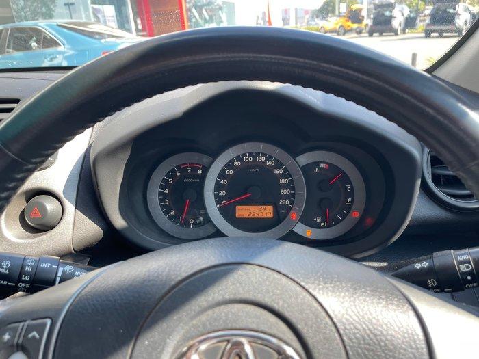2009 Toyota RAV4 Cruiser ACA33R MY09 4X4 On Demand Glacier White