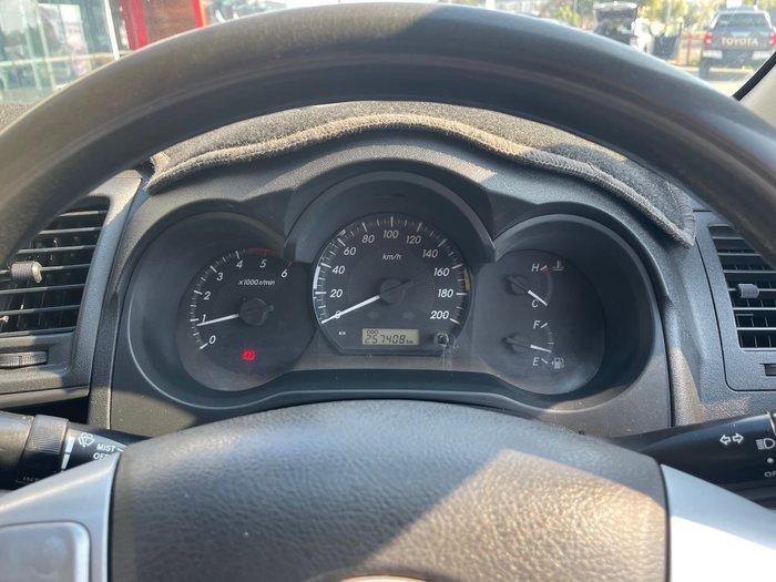 2012 Toyota Hilux SR KUN26R MY12 4X4 Glacier White