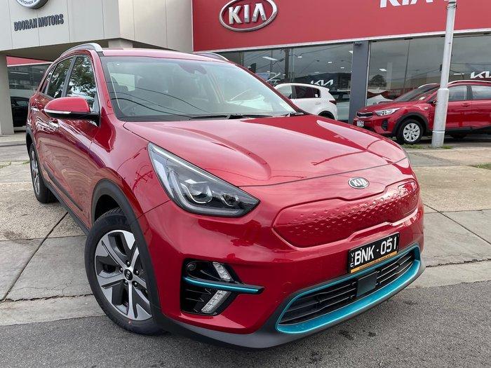 2021 KIA NIRO EV Sport DE Red