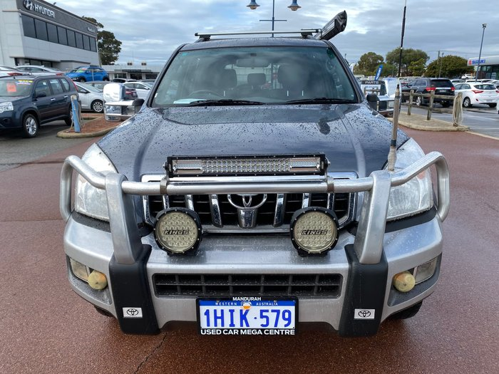 2009 Toyota Landcruiser Prado GXL KDJ120R 4X4 Constant Charcoal Grey