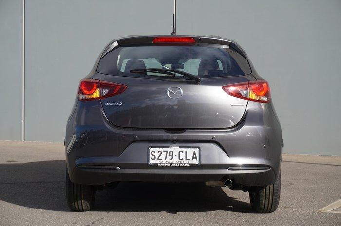 2021 Mazda 2 G15 Pure DJ Series Machine Grey
