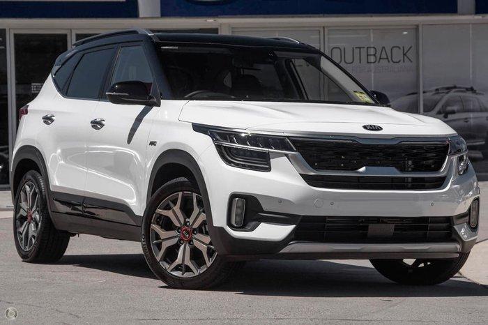 2021 Kia Seltos GT-Line SP2 MY21 AWD White