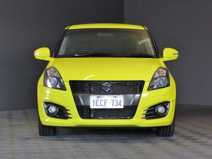 2012 Suzuki Swift Sport FZ Champion Yellow