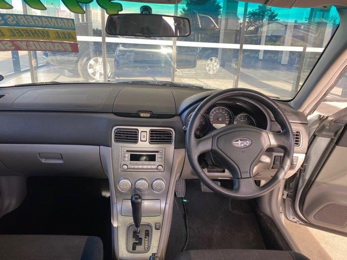2007 Subaru Forester XS 79V MY07 AWD Steel Silver