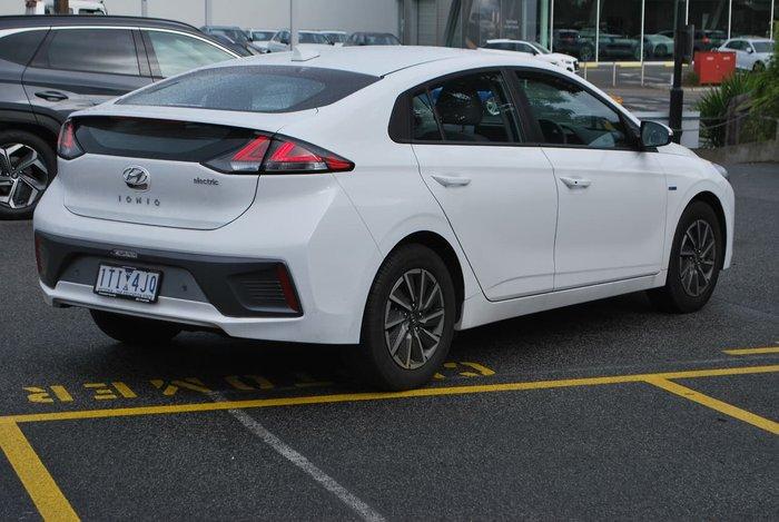 2020 Hyundai IONIQ electric Elite AE.3 MY20 White