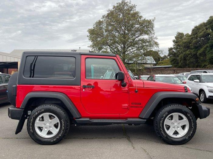 2014 Jeep Wrangler Sport JK MY14 4X4 Dual Range Red