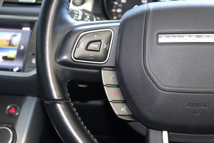 2016 Land Rover Range Rover Evoque TD4 150 SE L538 MY16.5 4X4 Constant Black