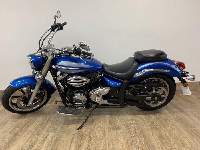 2009 Yamaha XVS950A BLUE