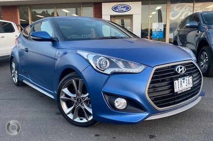 2016 Hyundai Veloster SR Turbo FS5 Series II Blue