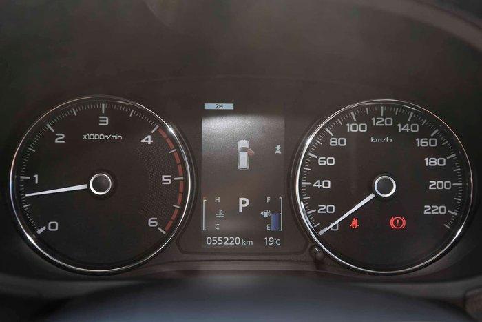 2017 Mitsubishi Pajero Sport GLS QE MY17 4X4 Dual Range Silver