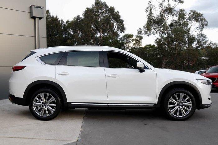 2021 Mazda CX-8 Asaki LE KG Series AWD Snowflake White Pearl