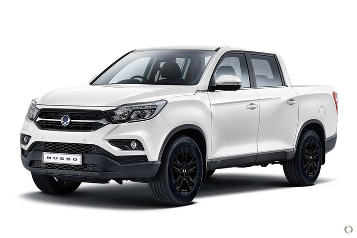 2021 SsangYong Musso Ultimate Q200 MY20.5 4X4 Dual Range White