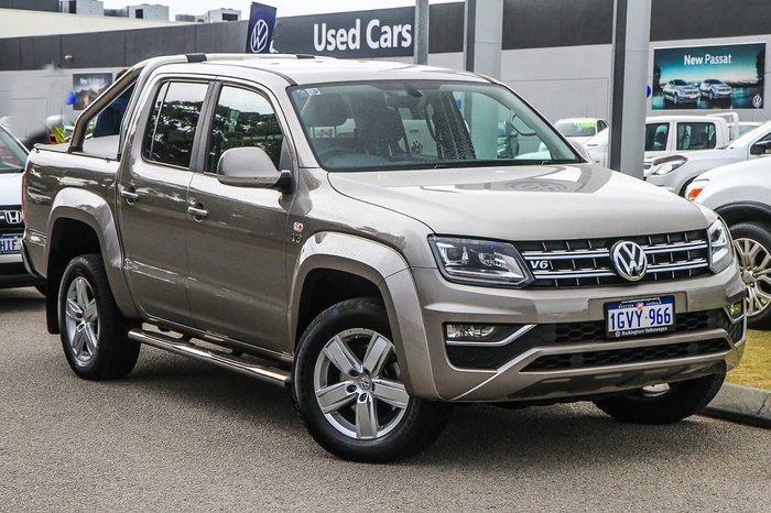 2019 Volkswagen Amarok TDI550 Highline 2H MY19 4X4 Constant Beige
