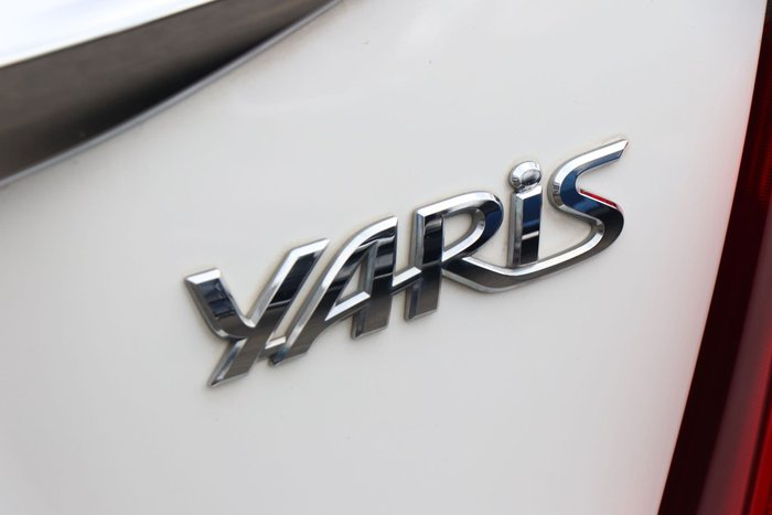 2015 Toyota Yaris Ascent NCP130R Glacier White