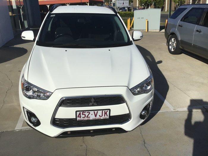 2014 Mitsubishi ASX LS XB MY15 White