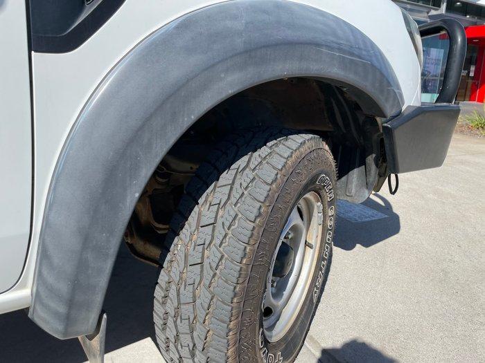 2011 Ford Ranger XL PX 4X4 Dual Range Cool White