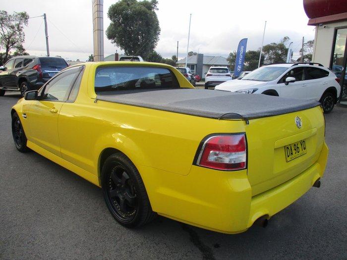 2011 Holden Ute SV6 VE Series II MY12 Yellow