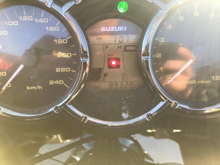 2008 Suzuki DL1000 V-STROM Red