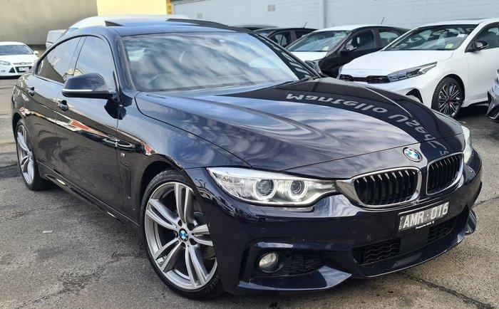 2017 BMW 4 Series 420i M Sport F36 Black