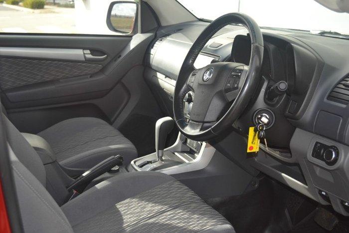 2016 Holden Colorado LS RG MY16 4X4 Dual Range RED