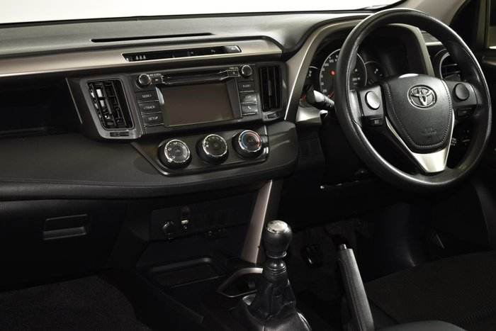 2016 Toyota RAV4 GX ZSA42R Silver