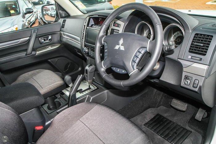 2021 Mitsubishi Pajero GLX NX MY21 4X4 Dual Range White