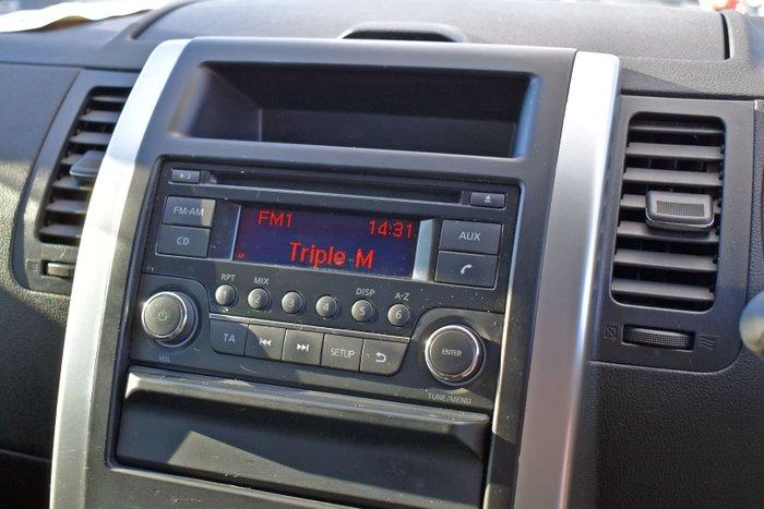 2012 Nissan X-TRAIL ST T31 Series IV Brilliant Silver