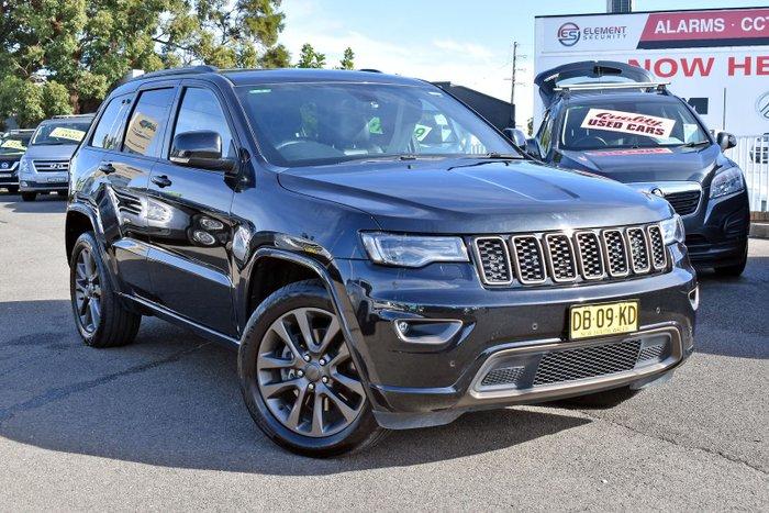 2016 Jeep Grand Cherokee 75th Anniversary WK MY16 4X4 Dual Range Brilliant Black