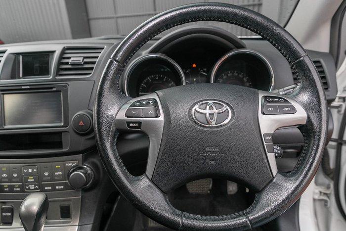 2012 Toyota Kluger KX-S GSU45R MY12 AWD Crystal Pearl