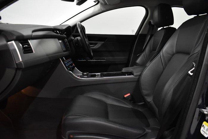 2017 Jaguar XF 20d Prestige X260 MY17 Dark Sapphire