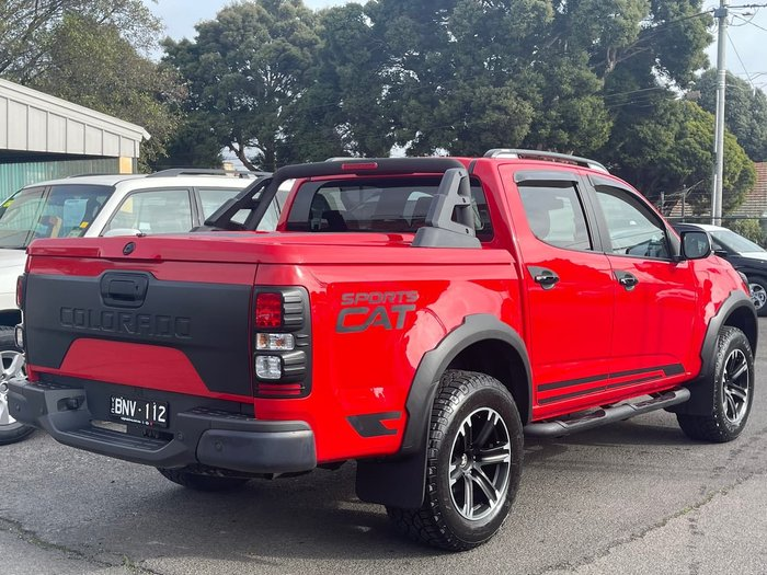 2018 Holden Special Vehicles Colorado SportsCat+ RG MY18 4X4 Dual Range Red