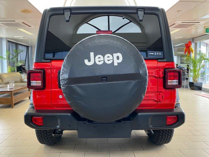 2019 Jeep Wrangler Unlimited Sport S JL MY19 4X4 Dual Range Firecracker Red