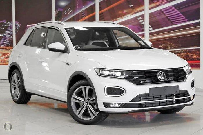 2021 Volkswagen T-Roc 140TSI Sport A1 MY21 Four Wheel Drive Pure White
