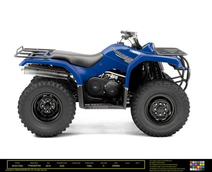 2021 Yamaha Grizzly 350 4x2 Auto (YFM350A) Grizzly Steel Blue