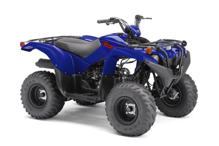 2021 Yamaha Grizzly 90 (YFM90RYX) Grizzly Steel Blue