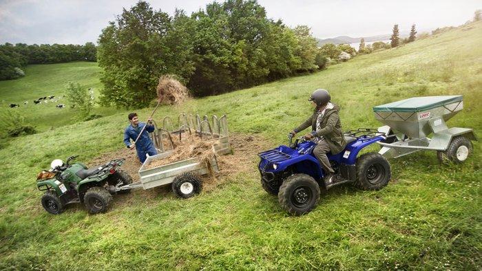 2021 Yamaha Grizzly 350 4x4 Auto (YFM350FA) Grizzly Steel Blue