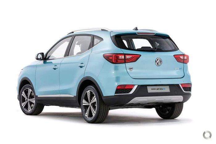 2020 MG ZS EV Essence AZS1 MY21 Clipper Blue