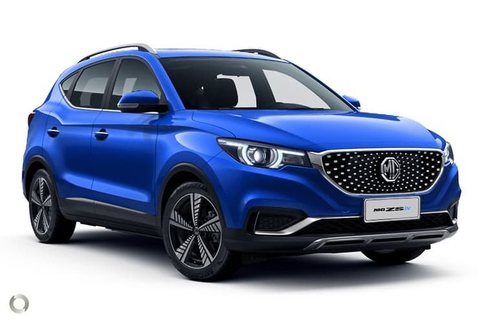 2020 MG ZS EV Essence AZS1 MY21 Regal Blue