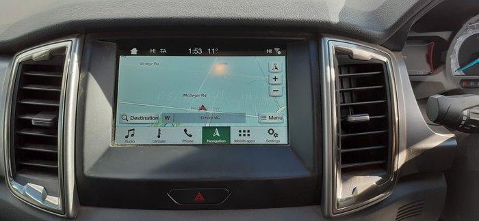 2017 Ford Ranger XLT PX MkII MY18 4X4 Dual Range Frozen White