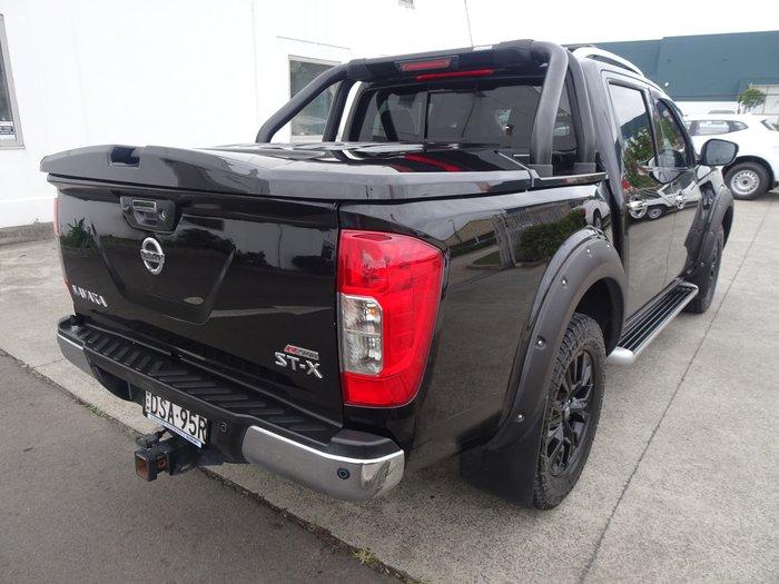 2017 Nissan Navara ST-X N-SPORT Black Edition D23 Series 2 4X4 Dual Range Cosmic Black