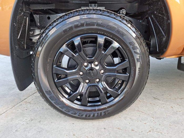 2021 Ford Ranger Wildtrak PX MkIII MY21.25 4X4 Dual Range Orange