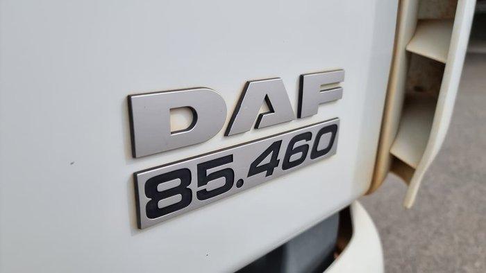 2009 DAF CF85 WHITE