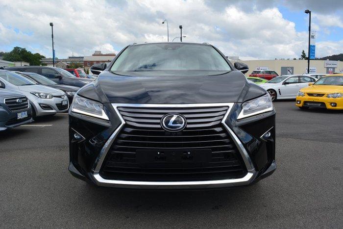 2018 Lexus RX RX350 Sports Luxury GGL25R 4X4 On Demand Black