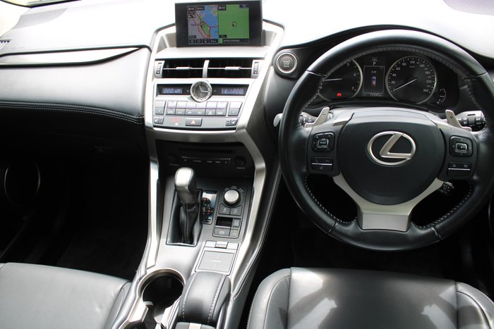 2015 Lexus NX NX200t Luxury AGZ15R AWD Silver