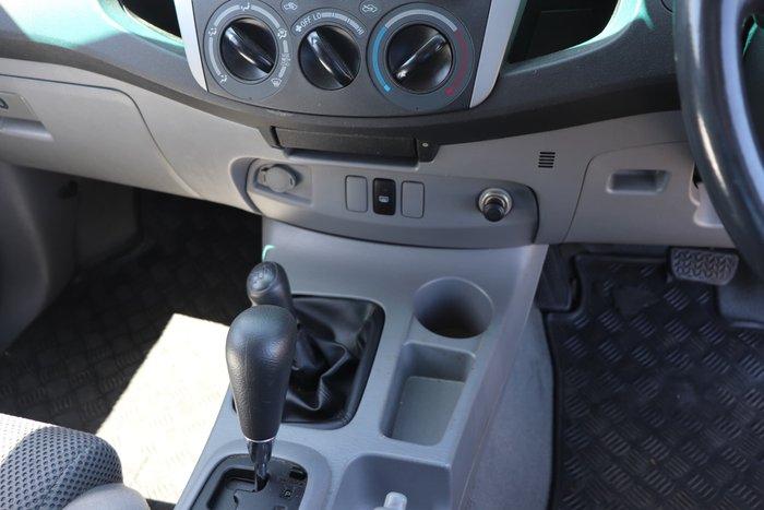 2010 Toyota Hilux SR5 KUN26R MY10 4X4 Beige