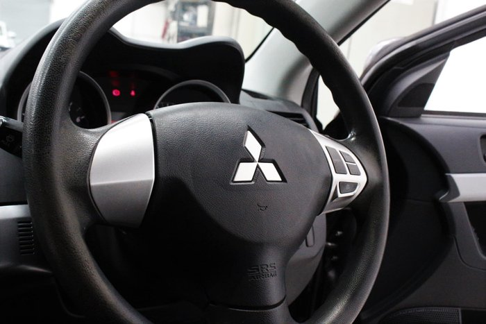 2010 Mitsubishi Lancer ES CJ MY11 Effect Grey