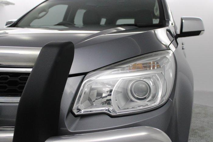 2015 Holden Colorado 7 LTZ RG MY16 4X4 Dual Range Satin Steel Grey