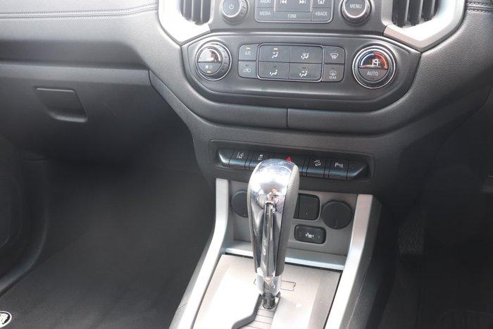 2017 Holden Colorado Storm RG MY18 4X4 Dual Range Summit White
